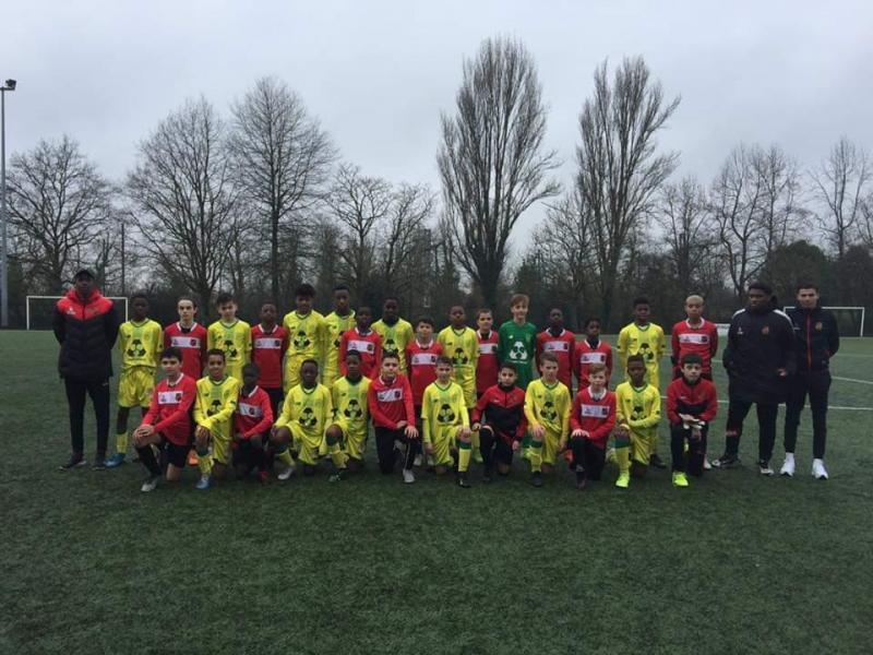 Visite du centre de formation du FC Nantes